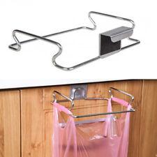 Cupboard Cabinets Trash Rack Storage Hanger Kitchen Gadget Garbage Bag Holder