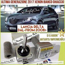 2 Lampadine BIXENON D1S LANCIA DELTA 844 dal 2008 fari 6000K RICAMBIO Luci Tunin