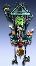 NIGHTMARE BEFORE CHRISTMAS HALLOWEEN TOWN CUCKOO CLOCK NEW MIB