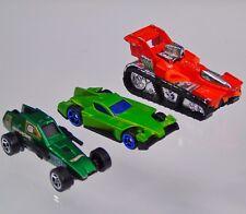 Armored Cars Hotwheels Mattel 1982 Police Enforcer 1992 All Terrain 2006 McDonal