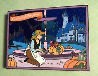 Gorgeous Cinderella Fantasy Pin Featuring Gus and Jaq - Cinderella Pumpkins