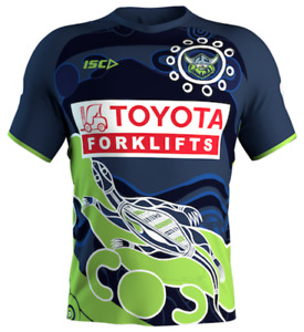 Canberra Raiders 2021 Indigenous Run Out Tee S - 5XL & Kids 6-14 NRL ISC PRESALE