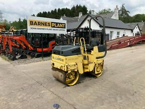 * BOMAG BW80 Twin Drum Vibrating Roller