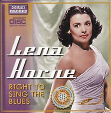 LENA HORNE Right To Sing The Blues CD - New