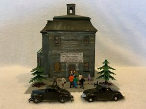 Alexander Scale Models #7558 Haunted House Custom Assembled