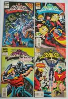 Marvel-Starblast #1-4 Complete Series-1994 Crossover Event VF-VF/NM