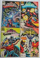 Marvel-Starblast #1-4 Complete Series-1994 Crossover Event VF-VF/NM