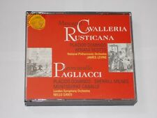 Mascagni Cavalleria Rusticana Pagliacci Domingo/Scotto/Levine/Santi 2 CD Box Set