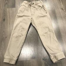 Gymboree Boys Pull on Jogger Pants Tan Khaki Size Xs 4