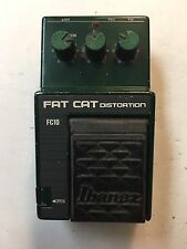 Ibanez FC-10 Fat Cat Distortion Rat Overdrive Rare Vintage Guitar Effect Pedal