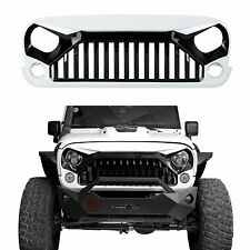 NEW Grid Grille Front Grill Cover For 2007-2017 Jeep Wrangler JK JKU & Unlimited