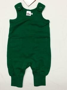 Hanna Andersson baby boy overall  3 6 18 24 m 3 y RRP $40 green