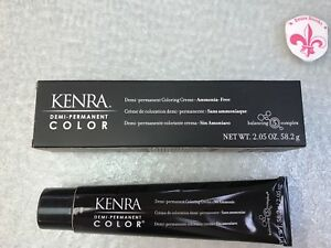 KENRA GUY TANG Demi PERMANENT HAIR COLOR 10BrM Extra Light Blonde BROWN METALLIC