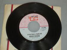 Michel Richard - Je ne Peux l'oublier/ Les Hommes 45 Rpm Record Vinyl