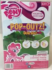 My Little Pony PopOutz Grab Bag On Go Art Activity Set Stickers & Markers NEW