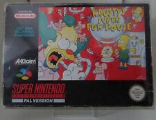 Krusty's Super Fun House (Nintendo SNES) PAL OVP/Modul/Anleitung