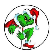 48 Grinch #2!!!  ENVELOPE SEALS LABELS STICKERS 1.2