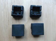 25mm x 25mm Square Plastic Blanking ends