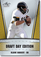 "BLAINE GABBERT 2011 LEAF ""DRAFT DAY EDITION"" ROOKIE CARD! MIZZOU! JAGS #1 PICK!"