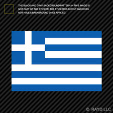 "4"" Greek Flag Sticker Decal Self Adhesive Vinyl Greece"