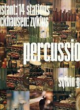 STOCKHAUSEN percussion FRANCE ORIGINAL FIRST PRESSING