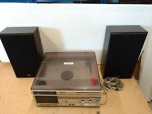 Sharp VZ-1500 Music Center Zweiseiten Linear Plattenspieler both side turntable