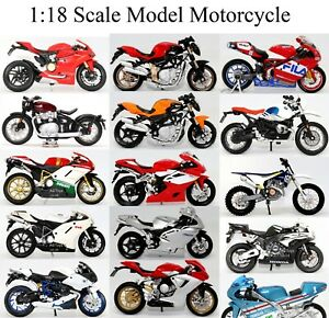 Motorcycle Motorbike Collection 1:18 Scale Die-cast Model Toy CHOOSE YOUR BIKE