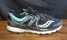 Saucony Triumph ISO3 Running Shoes Black Blue NYC Marathon Grn 10.5 S20346-20 qb