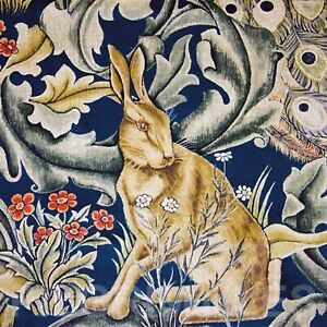 William Morris Hare Tile Fireplace Kitchen Bathroom Ceramic or Porcelain