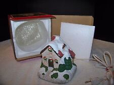 Christmas House Night Light Vintage George Good Electric Light with Box
