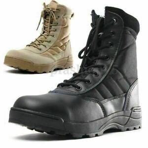 Herren Kampfschuhe Military Tactical Desert Ankle Boots Booties Stiefel CombatPA