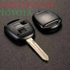 NEW 2 BUTTON REMOTE KEY FOB CASE, TOYOTA RAV4 LAND CRUISER PREVIA YARIS COROLLA