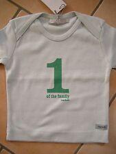 """(7) Imps & Elfs unisex Baby Shirt Logo Aufnäher & Druck """"1 of the family"""" gr.68"""