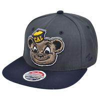 NCAA Zephyr California Berkeley Golden Bears Refresh Snapback Flat Bill Hat Cap