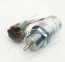 Stop solenoid Valve 12V DC for Pel Job EB250 EB300 CAT 302.5C 303CR 303SR