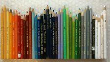 37 Eagle Berol Prismacolor Vintage Colored Pencil Crayon Lot Thick Soft Lead