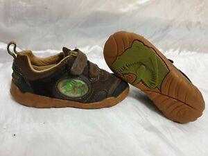 clarks kids boys shoes size uk 8f / eu 25.5m