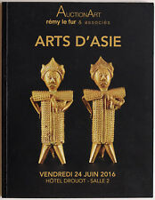 Asian art DROUOT 2016 auction catalogue