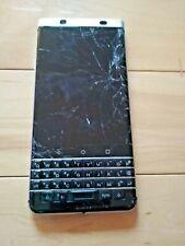 BLACKBERRY sbloccato argento Keyone 32GB cellulare * ROTTO PER RICAMBI e riparazioni *