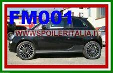 MINIGONNE PER FIAT 500 IN ABS NERE REPLICA ORIGINALI  FM001 - SI/FM001