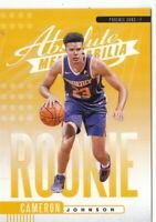 19/20 2019/20 Panini Absolute Yellow Rookies #10 Cameron Johnson - Phoenix Suns