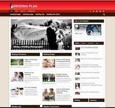 Wedding Planning Niche Established Clickbank Affiliate Blog Website