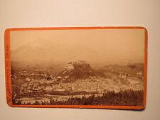 Salzburg vom Kapuzinerberg - 1885 / CDV
