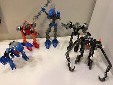 Lego Bionicle Lot of 5 Figures