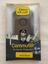 NEW OtterBox Commuter Series Case For iPhone 5, 5E, SE - Black OEM Genuine