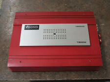 Old School Visonik V800XD 1 Channel 1 Ohm amplifier Amp,Mono Not Working