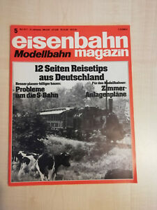 Eisenbahnmagazin Modellbahn 05/1977 - sehr guter Zustand (316)