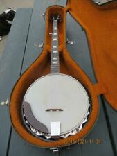 Five String Banjo With Case Korea NICE