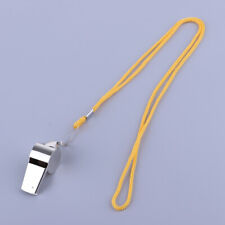 Sports Whistles with Lanyards Great for Coaches, Referees Loud Crisp Sound