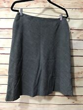Garfield & Marks Size 10 Black White Pencil Skirt Lined Career Event Wear NEW
